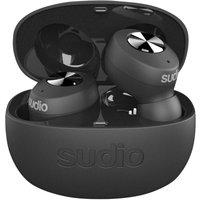 SUDIO TOLV Wireless Bluetooth Earphones - Black, Black