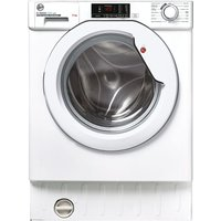 HOOVER H-WASH 300 Lite HBWS 49D2E-80 Integrated 9 kg 1400 Spin Washing Machine.