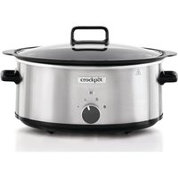 Click to view product details and reviews for Crock Pot Sizzle Stew Csc086 Slow Cooker Silver Stainless Steel Stainless Steel.