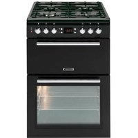 LEISURE AL60GAK Gas Cooker - Black, Black