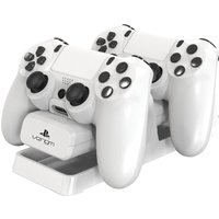 VENOM VS2730 PS4 Dual Charging Stand - White, White