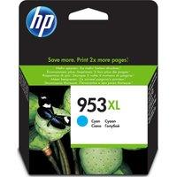 HP 953XL Cyan Ink Cartridge, Cyan