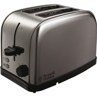 Buy RUSSELL HOBBS Futura 18780 2-Slice Toaster - Brushed Steel, Brushed Steel - Currys
