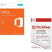 MICROSOFT Office Home & Student & LiveSafe Premium Bundle