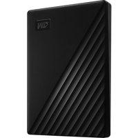 My Passport Portable Hard Drive - 1 TB, Black, Black