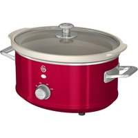 SWAN Retro SF17021 Slow Cooker - Red, Red
