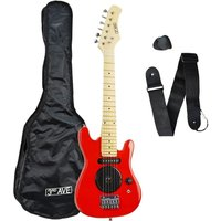 3RD AVENUE STX05 Junior Electric Guitar - Red, Red