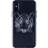 WILMA Midnight Shine Tigress iPhone X / XS Case - Black, Black
