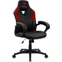 THUNDERX3 DC1 Gaming Chair - Black & Red, Black.