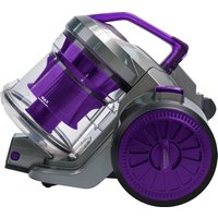 RUSSELL HOBBS RHCV2103 Cylinder Bagless Vacuum Cleaner - Gunmetal Grey & Purple, Grey