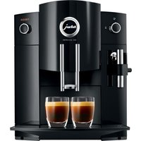 Jura C60 Bean To Cup Coffee Machine - Piano Black, Black at Currys Electrical Store