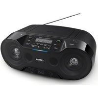 SONY ZSRS70BTB DAB/FM Bluetooth Boombox - Black, Black