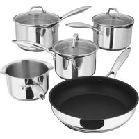 Stellar Pp374 7000 5-piece Cookware Set - Stainless Steel, Stainless Steel