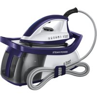 RUSSELL HOBBS Steam Power 100 Steam Generator Iron - Blue, Blue