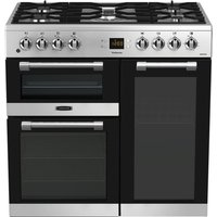 LEISURE CK90F530X 90 cm Dual Fuel Range Cooker - Stainless Steel and Chrome, Stainless Steel