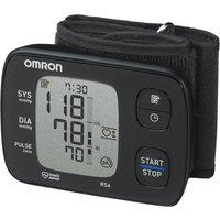 OMRON RS6 Wrist Blood Pressure Monitor - Black, Black