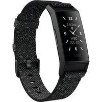 FITBIT Charge 4 Fitness Tracker - Granite Black, Universal, Black.