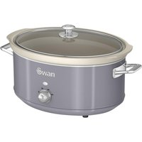 SWAN Retro SF17031GRN Slow Cooker - Grey, Grey