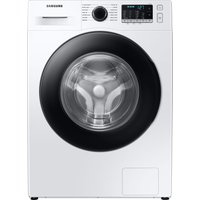 SAMSUNG Ecobubble WW80TA046AE/EU 8 kg 1400 Spin Washing Machine - White, White.