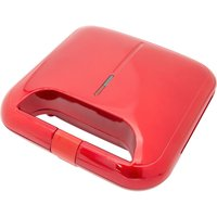 GLOBAL GIZMOS 35549 Sandwich Toaster - Red & Black, Red