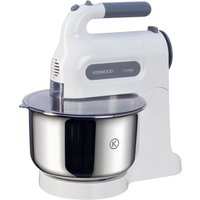 KENWOOD HM680 Chefette Hand Mixer with Bowl - White & Grey, White