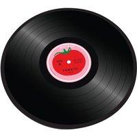Joseph Joseph 90001 Glass Chopping Board - Tomato Vinyl, Tomato