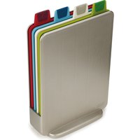 JOSEPH JOSEPH 60097 Index Mini Chopping Board Set - Silver, Silver