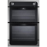NEW WLD NW901G Gas Oven - Black & Stainless Steel, Stainless Steel