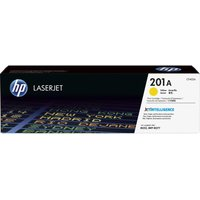 HP 201A Yellow Toner Cartridge, Yellow