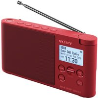 Click to view product details and reviews for Sony Xdr S41dr Portable Dabﱓ Radio Red Red.