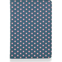 "GOJI 9.7"" iPad Folio Case - Blue & Pink, Blue"