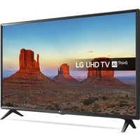 "LG 49"" 49UK6300PLB Smart 4K Ultra HD HDR LED TV, Blue"