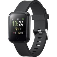 GOJI GSMTBK20 Smart Watch - Black, Medium, Black
