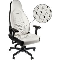 NOBLECHAIRS ICON Gaming Chair - White & Black, White