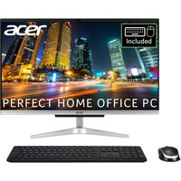 "ACER Aspire C22-963 21.5"" All-in-One PC - Intel®Core™ i3, 1 TB HDD, Silver, Silver"