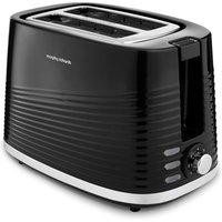 MORPHY RICHARDS Dune 220026 2-Slice Toaster - Black, Black