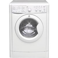 INDESIT IWDC6125 Washer Dryer - White, White