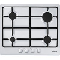 CANDY CPG64SPB Gas Hob - White, White