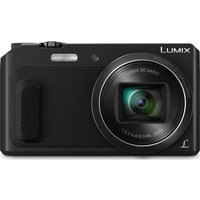 Panasonic Lumix DMC-TZ57EB-K Superzoom Compact Camera - Black, Black