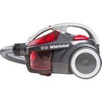 'Hoover Whirlwind Se71_wr01 Cylinder Bagless Vacuum Cleaner - Grey & Red