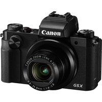 Canon PowerShot G5 X High Performance Compact Camera - Black, Black