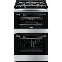ZANUSSI ZCG43010XA 55 cm Gas Cooker - Stainless Steel, Stainless Steel