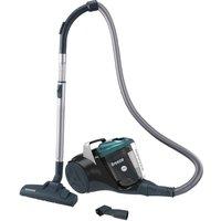 'Hoover Breeze Br71 Br01 Cylinder Bagless Vacuum Cleaner - Black & Green, Black