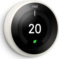 NEST Learning Thermostat   3rd Generation  White  White