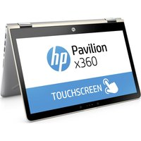 HP Pavilion x360 14-ba090sa 14 Touchscreen 2 in 1 - Silk Gold, Gold