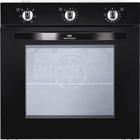 NEW WORLD NW602F BLK Electric Oven - Black, Black