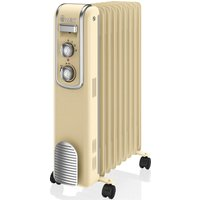 SWAN SH60010CN Oil-Filled Radiator - Cream, Cream