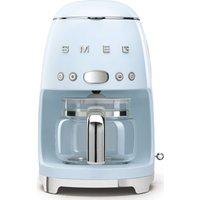 SMEG 50s Retro DCF02PBUK Filter Coffee Machine - Pastel Blue, Blue