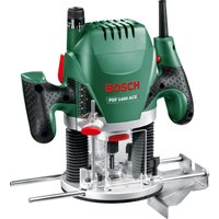 BOSCH POF 1400 ACE Plunge Router - Black and Green, Black