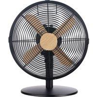 """RUSSELL HOBBS RHMDF1201WDB 12"""" Desk Fan - Black, Black"""